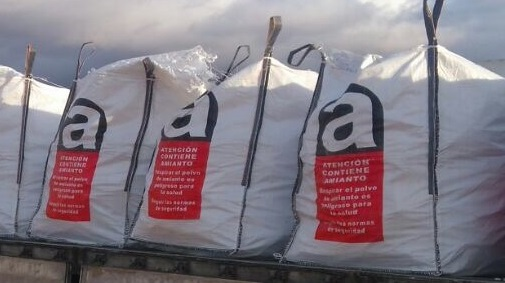 Deposito final de amianto y derivados El Provencio